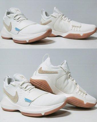 Nike Men's PG 1 EP, Ivory/Oatmeal-Gum Light Brown 11.5 D(M) US
