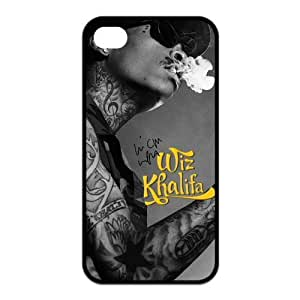 Wiz Khalifa iPhone 5c for kids Case American Rapper and Singer-songwriter Wiz Khalifa Personalized Black Case Covers at NewOne