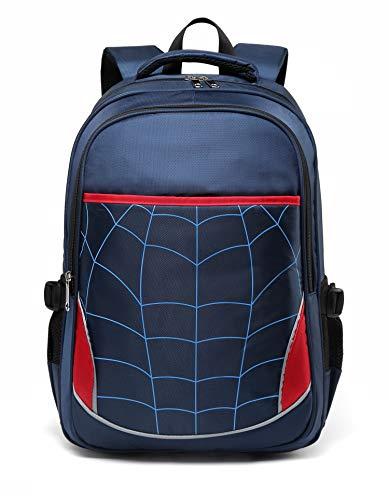 Kids Backpack for Boys Elementary School Bags Durable Kindergarten Bookbags (Royal Blue)