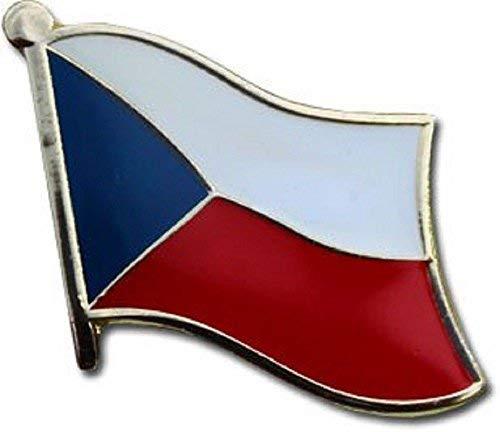 AES Czech Republic Country Flag Bike Hat Cap Lapel - Of Arms Coat Czech