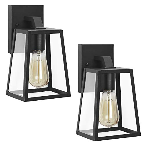 Black Outdoor Lighting Sconce in US - 8