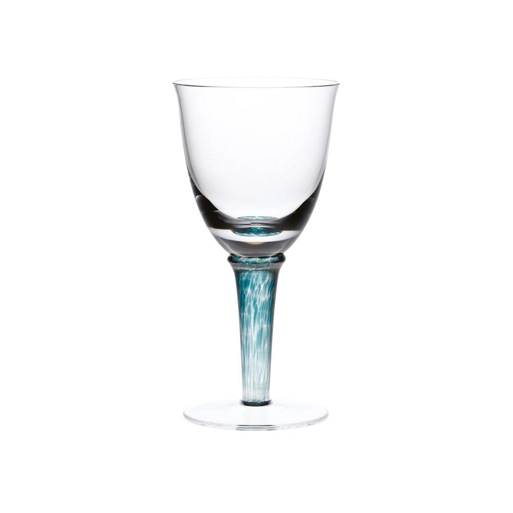 Denby Greenwich/Regency Green White Wine Glass - Set of 2 400010703 Barware & Glasses Drinksware Sets