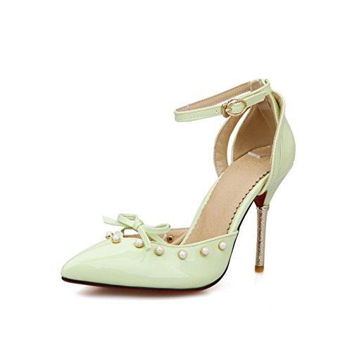 green 1TO9 femme Sandales 1TO9 femme pour pour Sandales qB6wfq