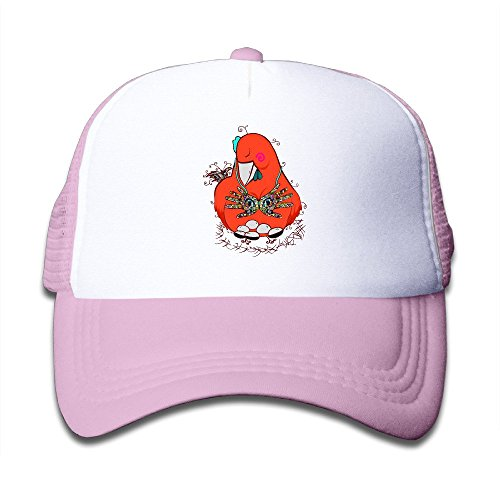 Hot Topic Hen Youth Mesh Cap Hat Boys Girls Adjustable One Size Pink (Hot Topic Guitar)