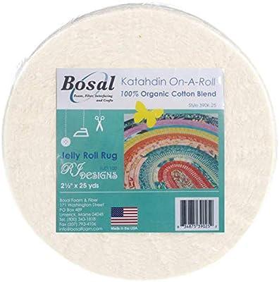 1 rollo)  Napa / Guata de algodón 100% arganico Jelly Roll: Amazon ...