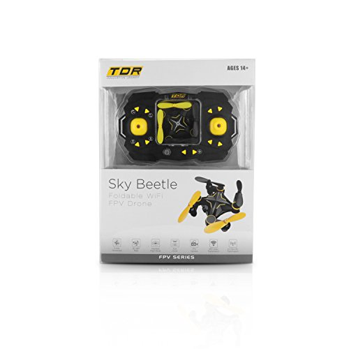 Tenergy-TDR-Sky-Beetle-Mini-RC-Drone-with-Camera-Live-Video-24GHz-FPV-WiFi-App-Controlled-Quadcopter-Drone-with-Docking-Transmitter-Auto-Hovering-One-key-Stunt-Moves