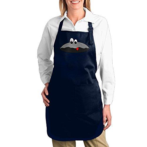 Dogquxio Cartoon Shells Kitchen Helper Professional Bib Apron With 2 Pockets For Women Men Adults - Warehouse Blog Craft