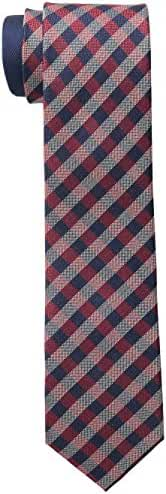 Tommy Hilfiger Men's Color Gingham Slim Tie