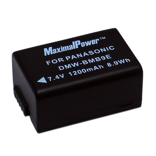 Maximal Power DB PAN DMW-BMB9E Battery (Black)