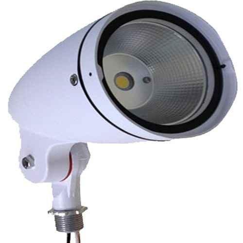 (Morris 71371 LED Bullet Floodlight, 12W, 3000 K, 817 lm, 120-277V, White)