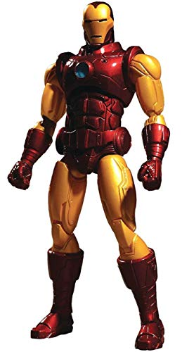Mezco Toyz One:12 Collective Marvel Iron Man Action Figure from Mezco