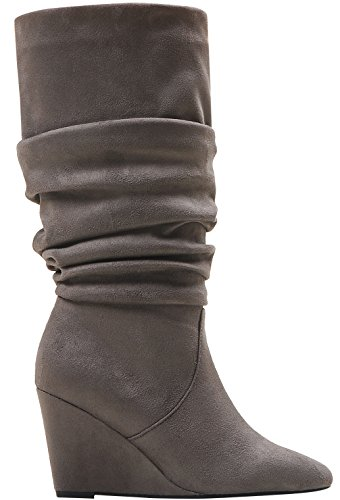impo impo stretch wedge boot smoky taupe 7 m us