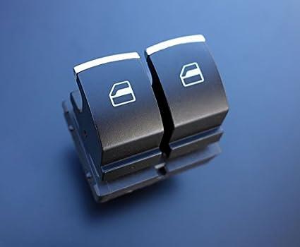 Amazon.es: 1811078 – Aluminio Mate Elevalunas Interruptor doble ...