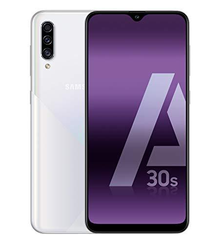 Samsung Galaxy A30s – Smartphone de 6.4″ Super AMOLED (4 GB RAM, 128 GB ROM) blanco [Versión española]