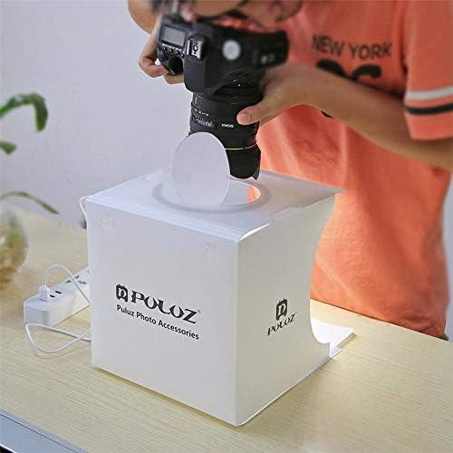 Banane Mini Studio Photo Portable avec 6 Couleurs Accessoires Tente coulissante Montres et Gadgets pour Bijoux Jouets Luminosit/é r/églable 3200K-6500K Petite bo/îte /à lumi/ère LED Pliable