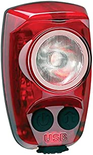 Cygolite Hotshot Pro- 150 Lumen Bike Tail Light- 6 Night & Daytime Modes- User Tuneable Flash Speed- Compa