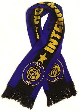 Inter Milan Soccer Fan Scarf Premium Acrylic Knit