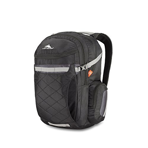 High Sierra Broghan DLX Backpack Black/Mercury/Charcoal