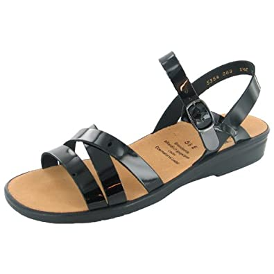 Schwarz42 Damen 2028140100 Eu Sonnica Ganter Sandalette