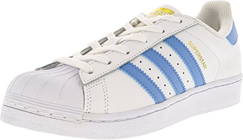 adidas Originals Men's Superstar Casual Sneake White/Light Blue outlet footlocker pictures clearance wholesale price find great online latest collections clearance prices bWeti