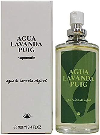 AGUA LAVANDA DE PUIG - Eau de Toilette Natural Spray 100 ml - [SIN ...