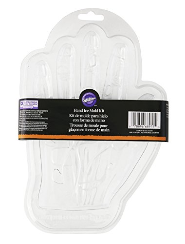 Wilton Monster Hand Ice Mold, Transparent