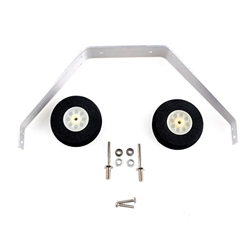 Makerfocus Landing Gear Kit Aluminum for 25 to 40Class Fixed-Wing Aircraft Model (Aluminum Landing Gear)