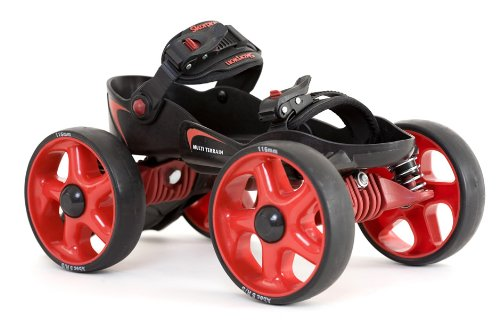 Skorpion Multi Terrain Skates - Small Red / Black by Skorpion