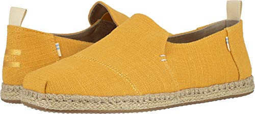 TOMS Men's Deconstructed Alpargata Rope Gold Fusion Heritage Canvas 10 D US