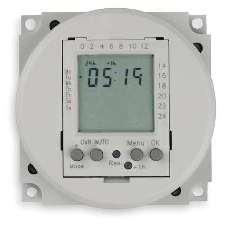 Electronic Timer, 24 hr/7 Days, SPDT-NO/NC (Intermatic 24 Hr Electronic)