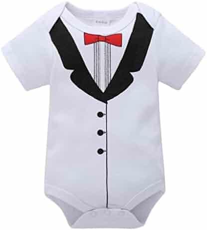 99853c168afe Yamally 9R Newborn Unisex Kids Baby Cartoon Printing Romper Jumpsuit Outfits