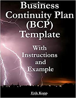 Buy business continuity plan template with instructions and example buy business continuity plan template with instructions and example book online at low prices in india business continuity plan template with instructions wajeb Choice Image