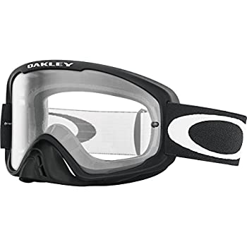 3d7c6d81916 Oakley O2 MX Men s Dirt Off-Road Motorcycle Goggles Eyewear - Matte Black Clear    One Size Fits All