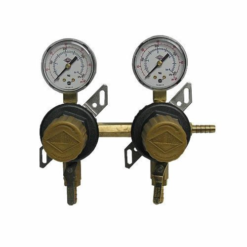 Taprite T1672ST 2-Product 2-Pressure 60 Psi Gauge Secondary Beer Co2 Regulator by Taprite-Fassco (Image #1)