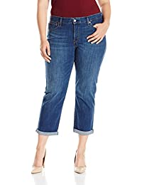 Women's Plus Size Boyfriend Jean