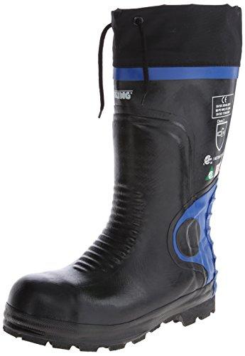 Viking Footwear Ultimate Construction Waterproof Boot,Black/Blue,13 M US by Viking Footwear