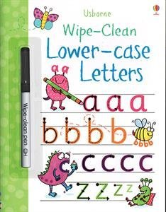 Wipe-Clean Lower-Case Letters (Usborne Wipe-Clean ()