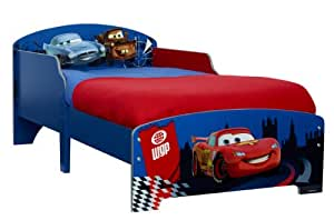 Worlds Apart 450CAS01 Cars 2 - Cama infantil (70 x 140 cm, a partir de 18 meses)
