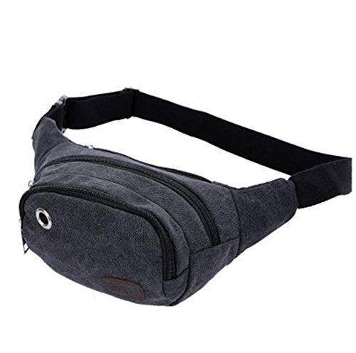 pengweiLos hombres ocasionales y las mujeres de lona sueltan el bolso al aire libre de la cintura del bolso de los deportes , 4 4