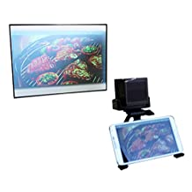Smart Screen - Fold-able and Portable Projector Screen ( Image 19 inches ) Perfect with UO Smart Beam Laser