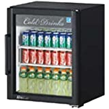 Super Deluxe Refrigerated Merchandiser, One-section, 5.9 Cu. Ft., Self-contained, (1) Double Pane Low-e Hinged Glass Door, (2) Adjustable Pe Coated Wire Shelves, Led Lighting, White Interior, Specify Exterior Cabinet Color, Rear Mount Compressor, 1/7 Hp, 115v/60/1, 3.0 Amps, Cord With Nema 5-15p, Etl-sanitation, Cetlus, Energy Star