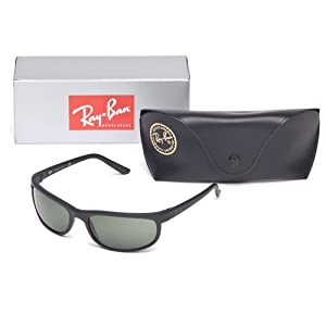 Ray-Ban Mens Predator 2 Sunglasses (RB2027) Plastic,Nylon