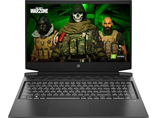 HP Pavilion Gaming 10th Gen Intel Core i5 Processor 16.1-inch FHD Gaming Laptop (8GB/1TB HDD + 256GB SSD/Windows 10/MS Office/NVIDIA GTX 1650ti 4GB/Shadow Black), 16-a0023TX