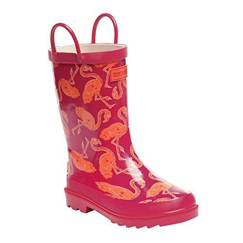 Regatta - Minnow - botas de goma para niño green & grey 44,5 eu, niños, minnow, blue - black Rojo