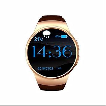 Bluetooth Smart Watch Teléfono con GPS Función Alarma ...