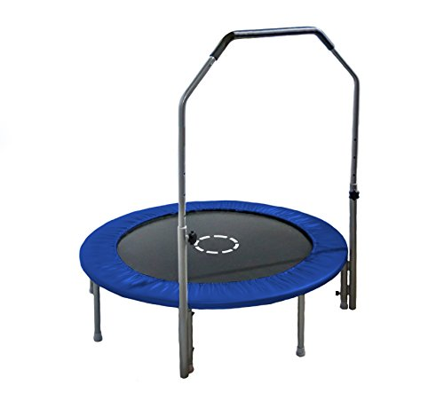 "TruJump 48"" Mini Trampoline with Handle bar"