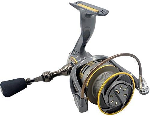 スピニングリール 超軽量淡水釣り海釣 釣りリールライトスムースベースギアスピニングキャスティング左右右塩水淡水釣りリール