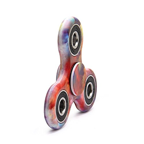Fidget Spinner Toy Ultra Durable Stainless Steel Bearing High Speed 2-3Mins Spins Precision Metal Material Hand Spinner EDC ADHD Focus Anxiety Stress Relief Boredom Killing Time Toys (C)