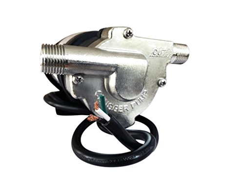 CHUGGER PUMP CPSS-IN-2 Stainless Steel 230 Volt Inline Home Brewing System Beer Pump 55