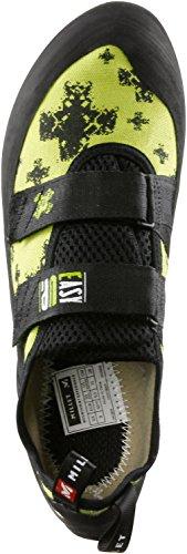 Millet Easy Up - Calzado de botas de senderismo para hombre negro / verde